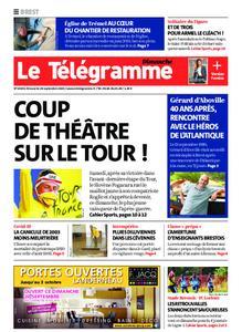 Le Télégramme Landerneau - Lesneven – 20 septembre 2020