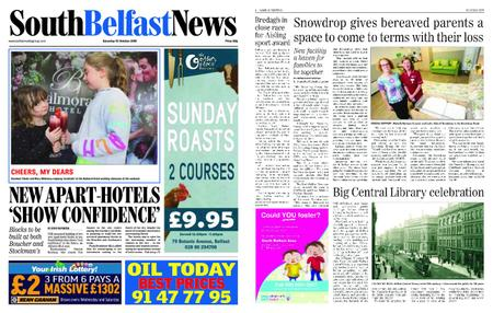 South Belfast News – October 11, 2018