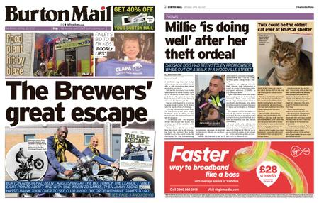 Burton Mail – April 26, 2021