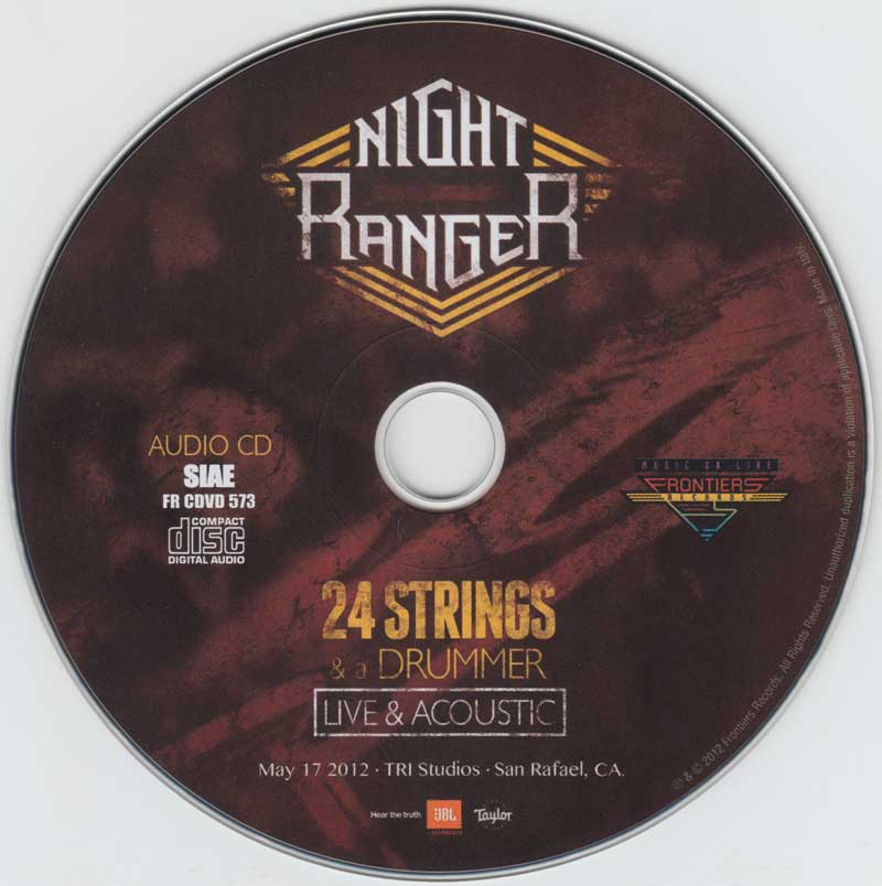 Night Ranger - 24 Strings & A Drummer: Live & Acoustic (2012)