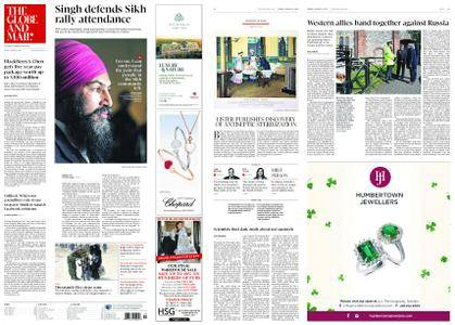 The Globe and Mail – March 16, 2018