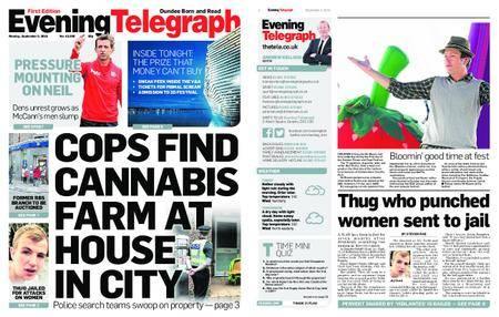 Evening Telegraph First Edition – September 03, 2018