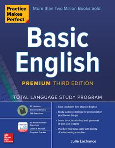 Practice Makes Perfect: Basic English, Premium 3rd Edition