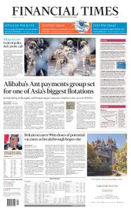 Financial Times Europe - July 21, 2020