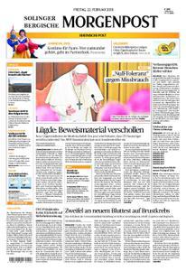 Solinger Morgenpost – 22. Februar 2019