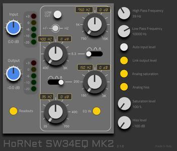 HoRNet SW34EQ MK2 v2.1.2 WiN OSX