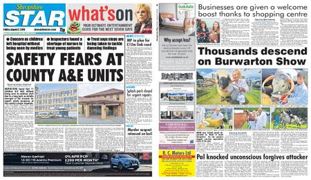 Shropshire Star Shrewsbury Edition – August 02, 2019