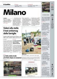 la Repubblica Milano - 22 Maggio 2018
