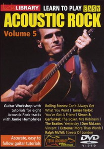 Lick Library - Learn To Play Easy Acoustic Rock - Vol. 5