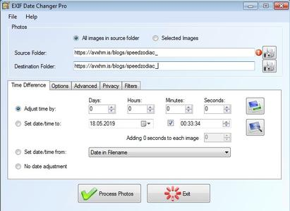 EXIF Date Changer Pro 3.8.0.0 Portable