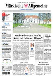 Märkische Allgemeine Zossener Rundschau - 10. April 2018