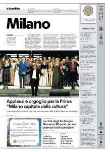 la Repubblica Milano - 8 Dicembre 2017