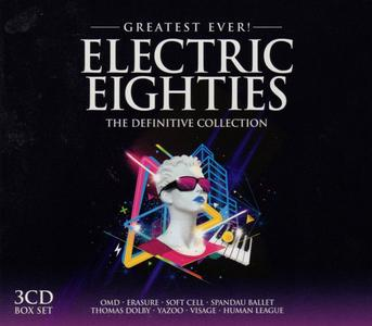 V.A. - Greatest Ever! Electric Eighties: The Definitive Collection (3CD Box Set, 2010)