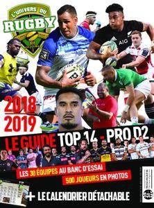 Univers du Rugby - août 2018
