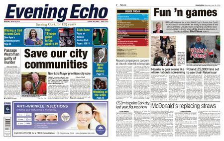 Evening Echo – June 16, 2018