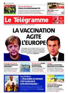 Le Télégramme Quimper – 06 janvier 2021