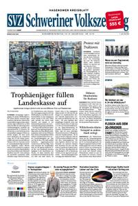 Schweriner Volkszeitung Hagenower Kreisblatt - 18. Januar 2020
