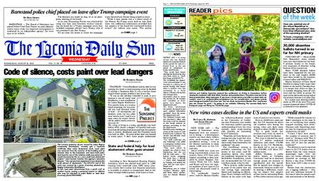 The Laconia Daily Sun – August 26, 2020