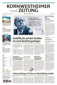 Kornwestheimer Zeitung - 17. Oktober 2018