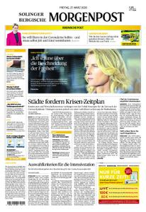 Solinger Morgenpost – 27. März 2020