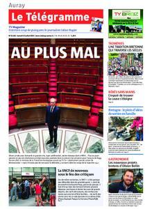 Le Télégramme Auray – 13 juillet 2019