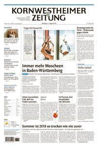 Kornwestheimer Zeitung - 21. August 2018