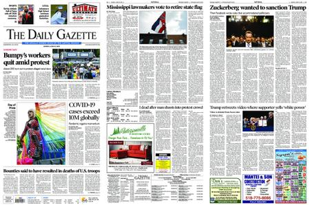 The Daily Gazette – June 29, 2020