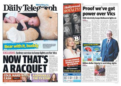The Daily Telegraph (Sydney) – March 01, 2018