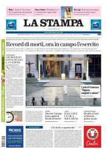 La Stampa Torino Provincia e Canavese - 28 Marzo 2020