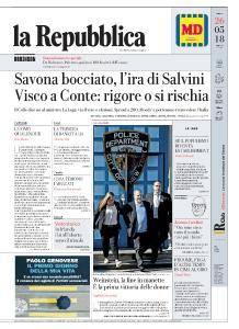 la Repubblica - 26 Maggio 2018