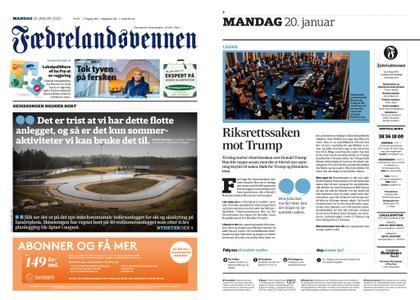 Fædrelandsvennen – 20. januar 2020