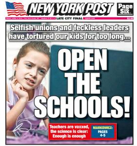 New York Post - April 9, 2021