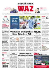 WAZ Westdeutsche Allgemeine Zeitung Oberhausen-Sterkrade - 31. August 2017