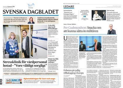 Svenska Dagbladet – 22 januari 2018