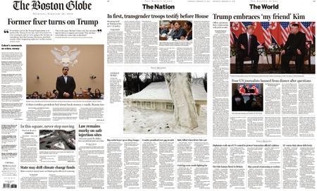 The Boston Globe – February 28, 2019