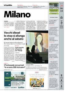 la Repubblica Milano - 20 Giugno 2018
