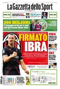 La Gazzetta dello Sport Roma – 30 luglio 2020