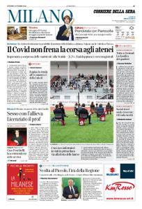 Corriere della Sera Milano – 02 ottobre 2020