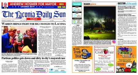 The Laconia Daily Sun – October 31, 2019