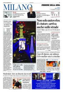 Corriere della Sera Milano – 03 dicembre 2018