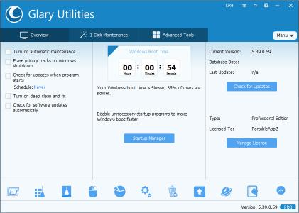 Glary Utilities Pro 5.116.0.141 Multilingual + Portable