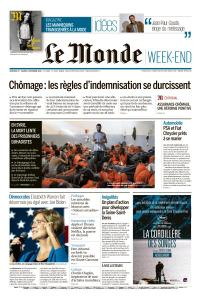 Le Monde du Vendredi 1er et Samedi 2 Novembre 2019