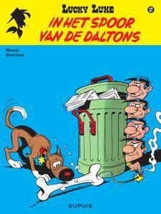 """Strip - """"Lucky Luke - 17 - In Het Spoor Van De Daltons cbr"""