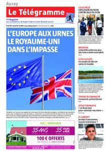 Le Télégramme Auray – 25 mai 2019