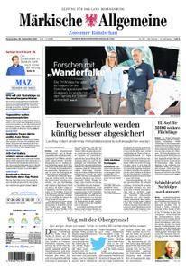 Märkische Allgemeine Zossener Rundschau - 28. September 2017
