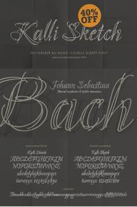 Kalli Sketch Font