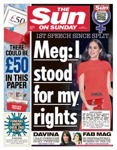The Sun UK - 8 March 2020