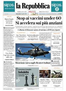 la Repubblica - 11 Aprile 2021