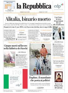 la Repubblica - 21 Novembre 2019