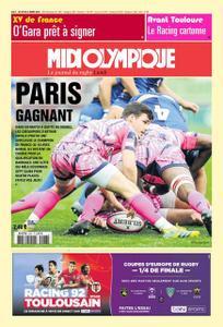 Midi Olympique Rouge - 25 Mars 2019
